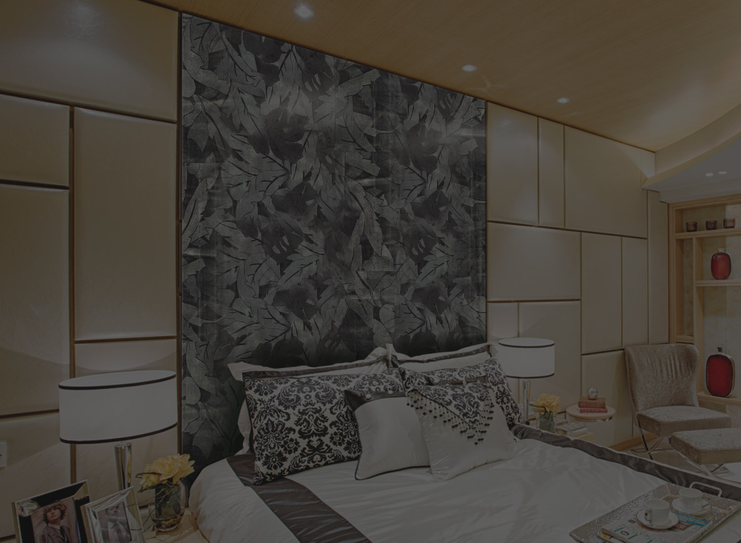 Interior designer paneling claddingCharcoal boards India